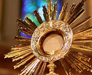 Join us for Adoration this Sunday 8:30 a.m. - 12 noon in the parking lot