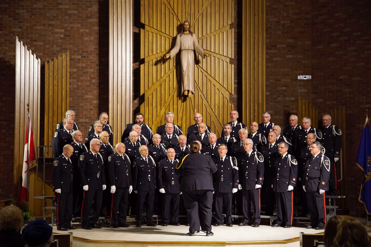 Police Choir & Fundraiser